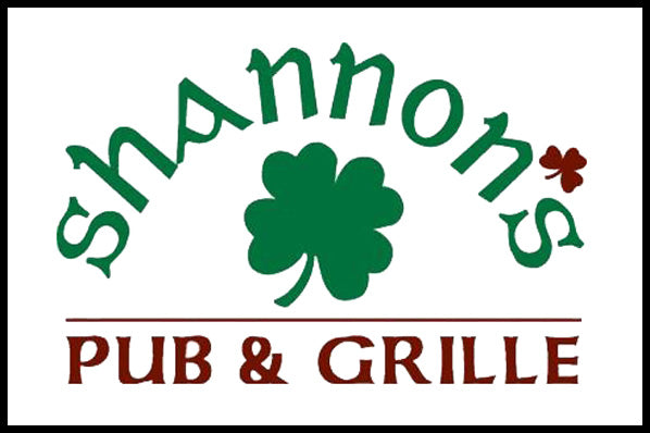 Shannons Bar and Grille Wood Flag
