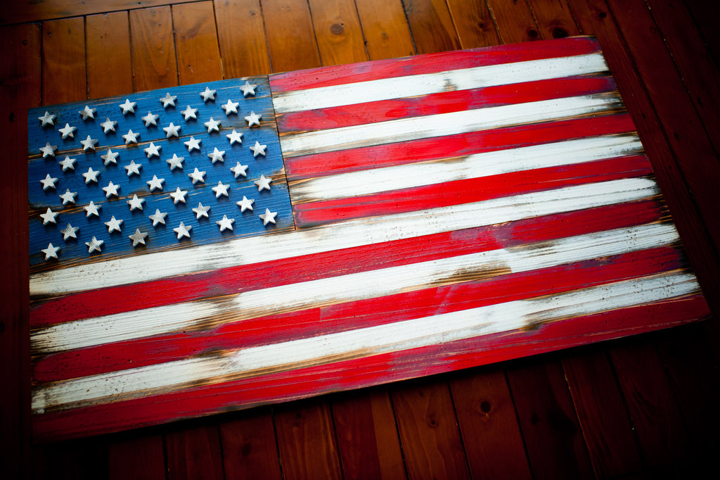 5 Vintage Wood American Flag Designs For Your Home Patriot Wood