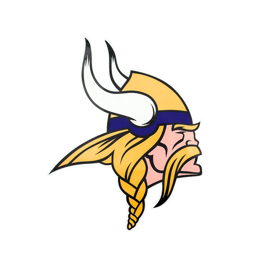 Vikings Minnesota State Cutout Wood Wall Art