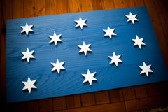 Washington Headquarters Wooden Flag by Patriot Wood
