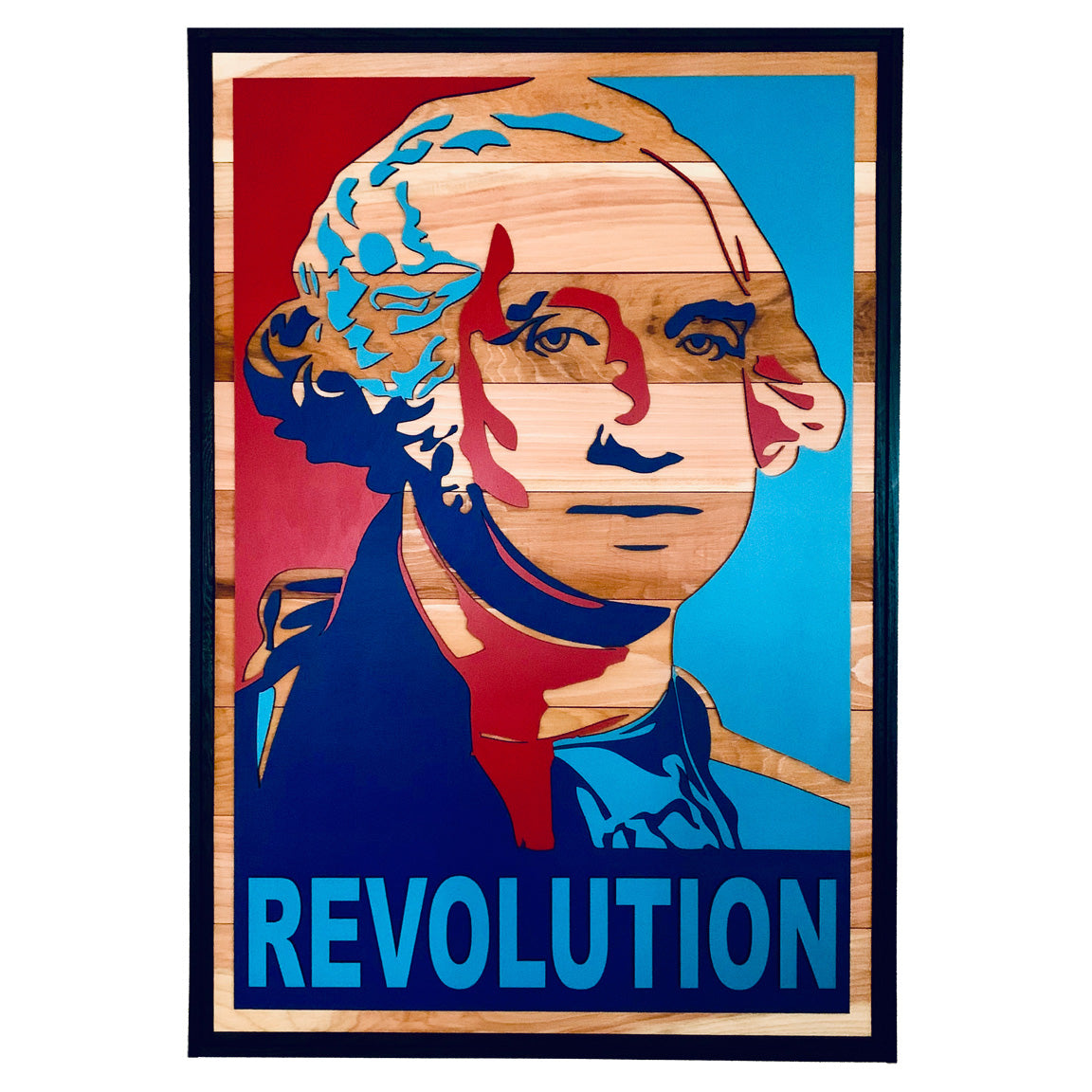 REVOLUTION Wood Wall Art