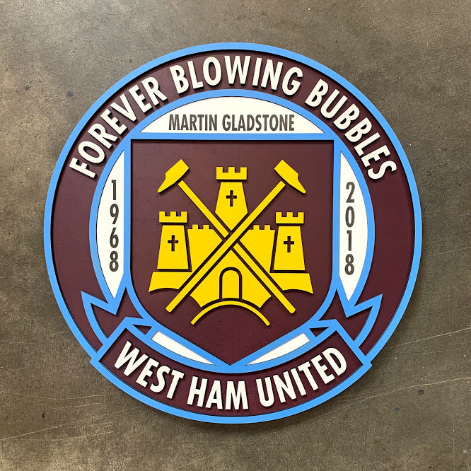 West Ham United Wood Crest