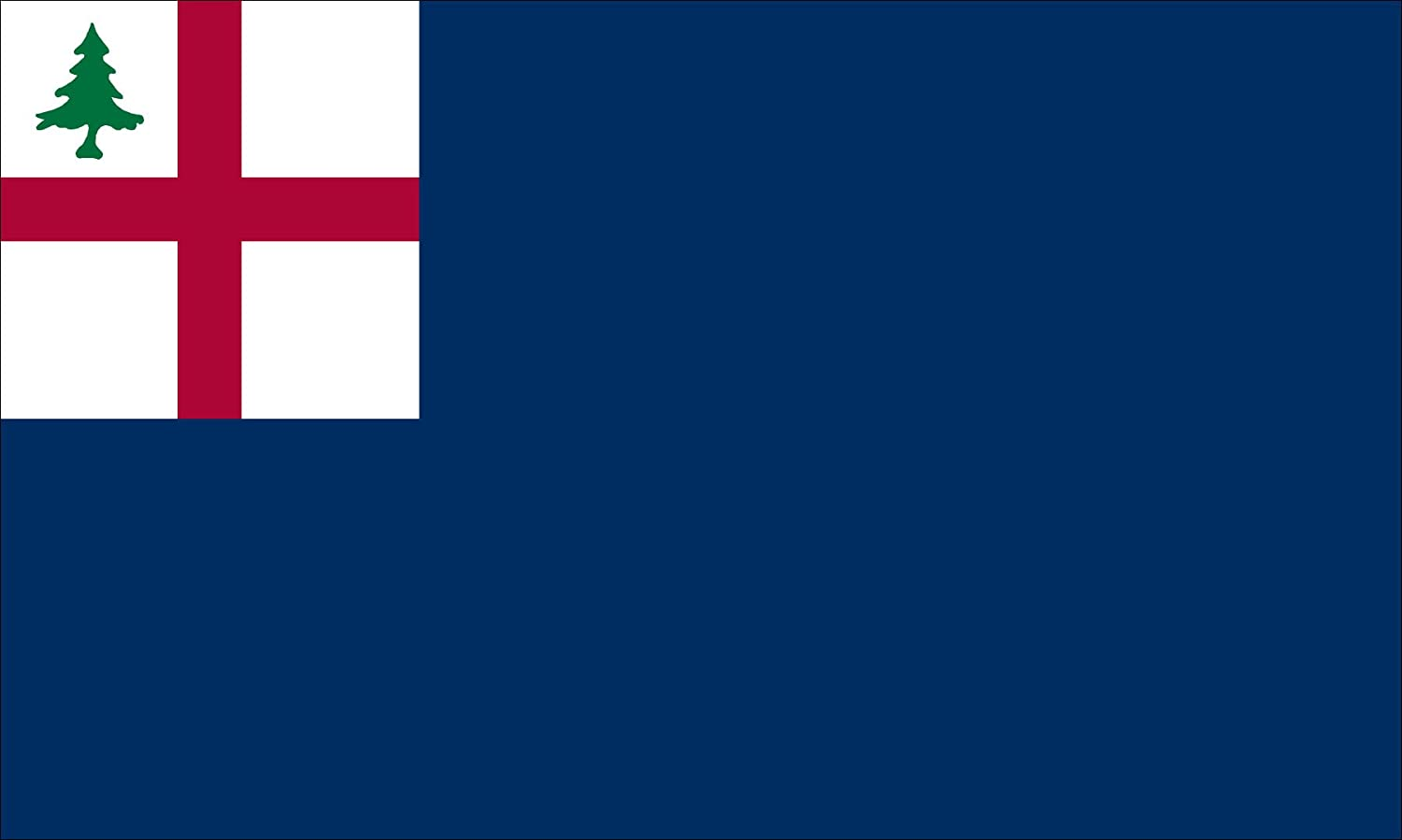 Bunker Hill Wood Flag