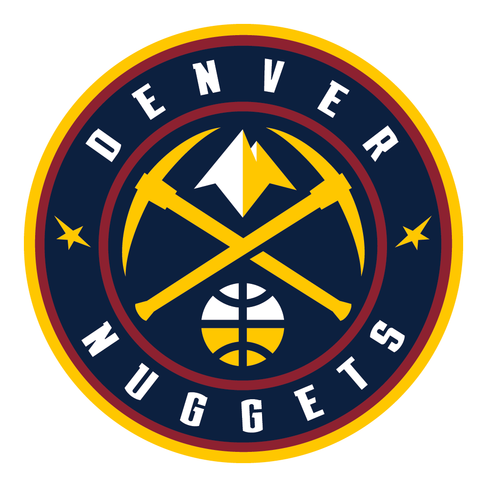 Denver Nuggets Wood Wall Art