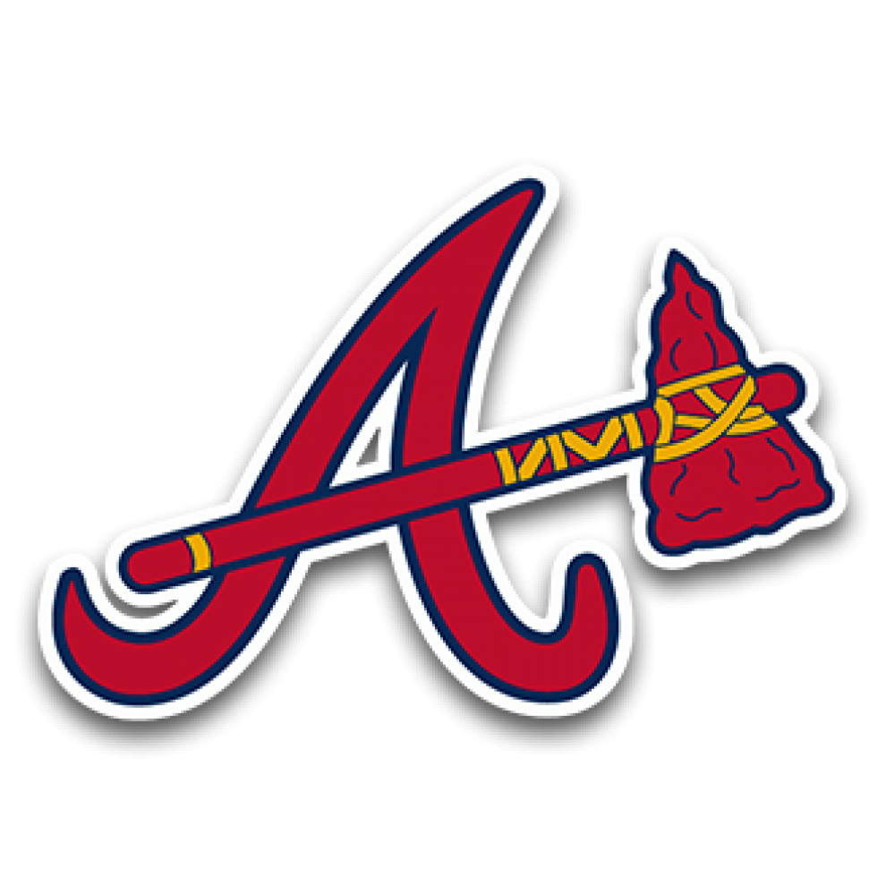 Atlanta Braves Wood Wall Art