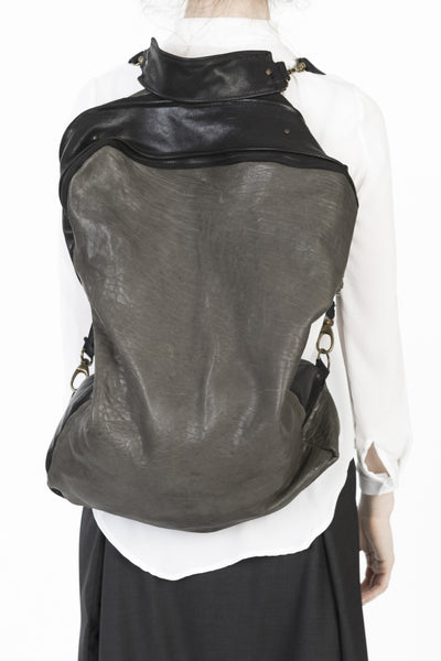 backpack and sling bag