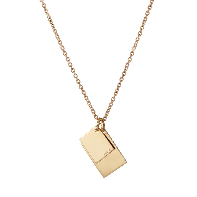 ALFA NOTE NECKLACE | SINGLE CHAIN