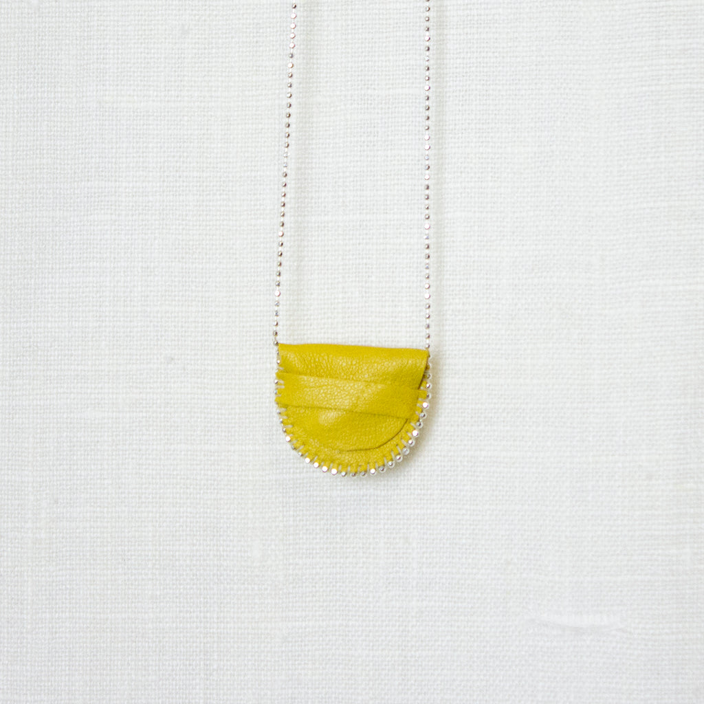 YELLOW | SILVER MEDICINE BAG