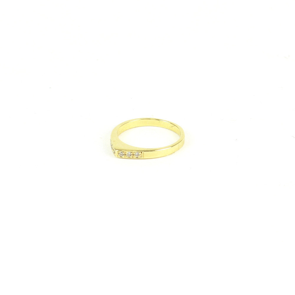 VERMEIL MINI PEAK RING