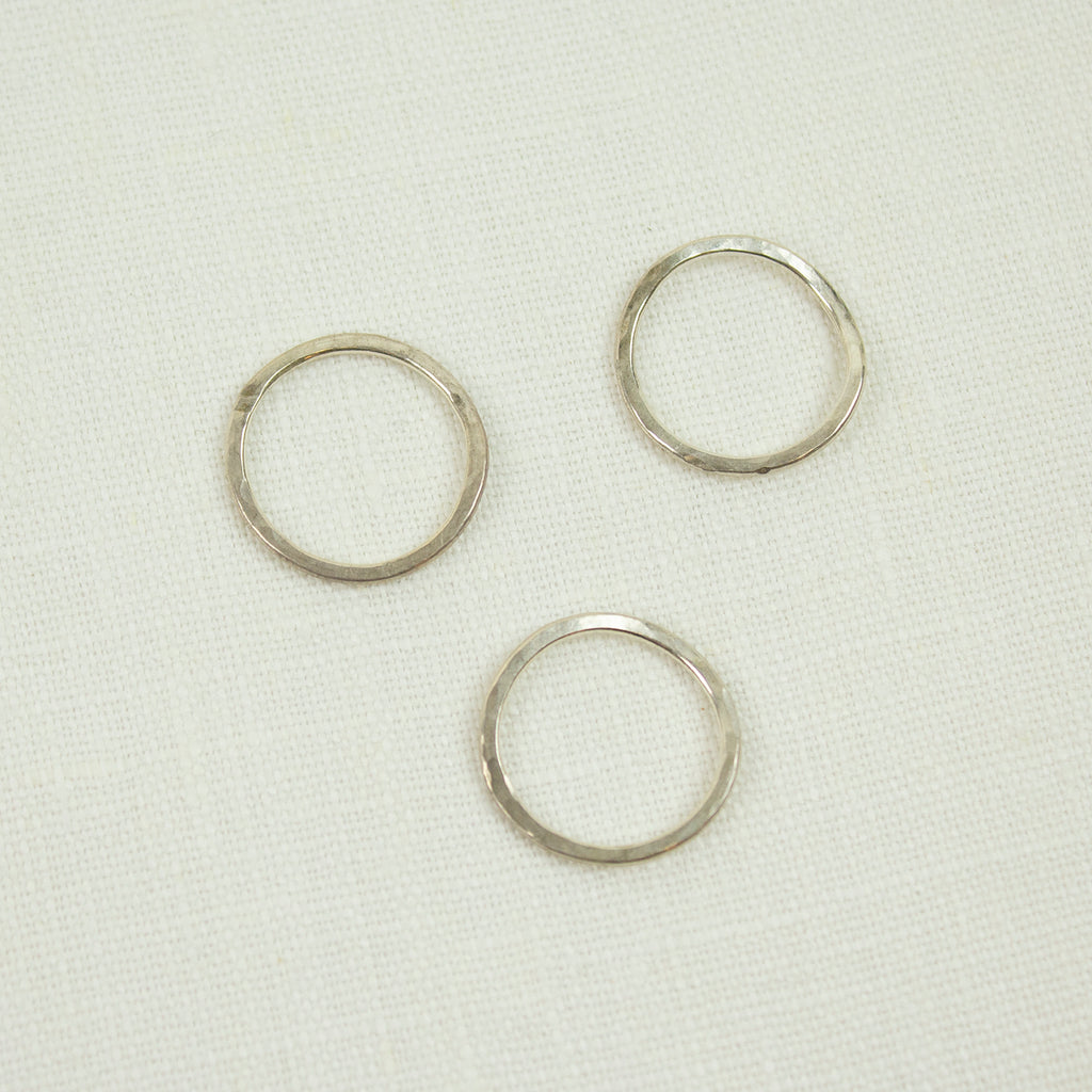 ONDA MOSSA RING | SILVER (SOLD SEPERATELY)