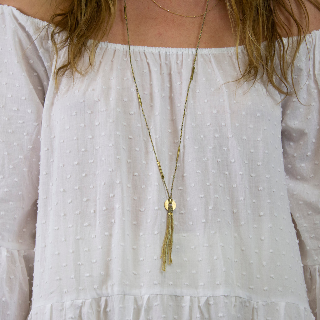 ANELLIDE E OCCHIO NECKLACE | THICK