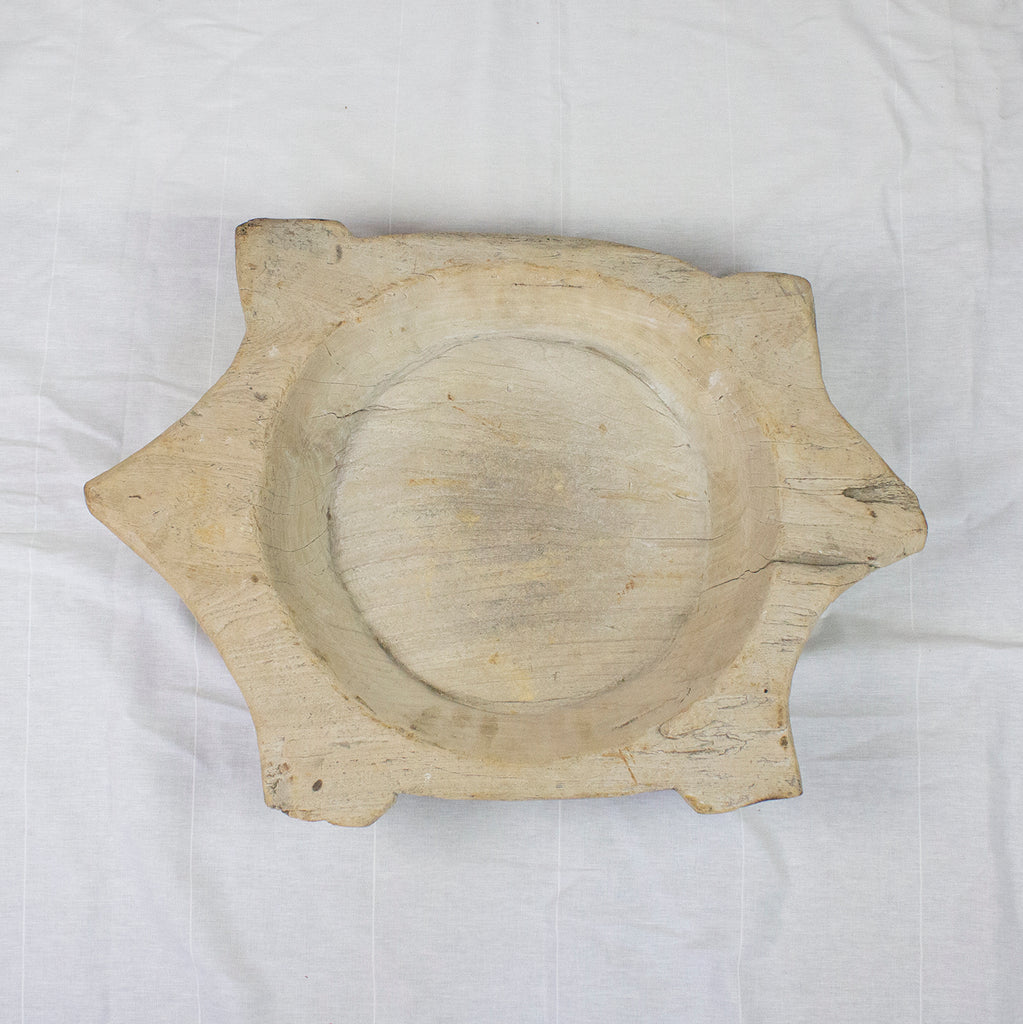 BLEACHED INDIAN DOUGHBOWL | MEDIUM