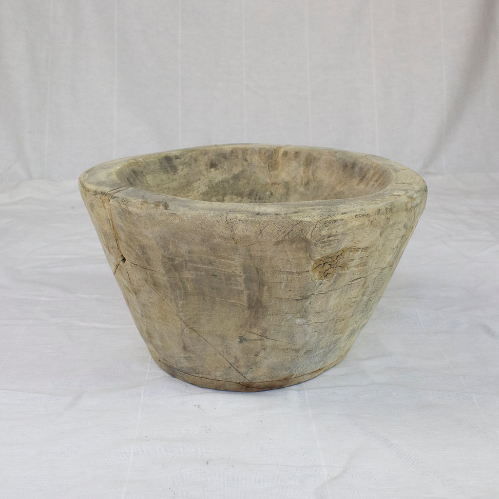 WHITE WASH BOWL | MEDIUM