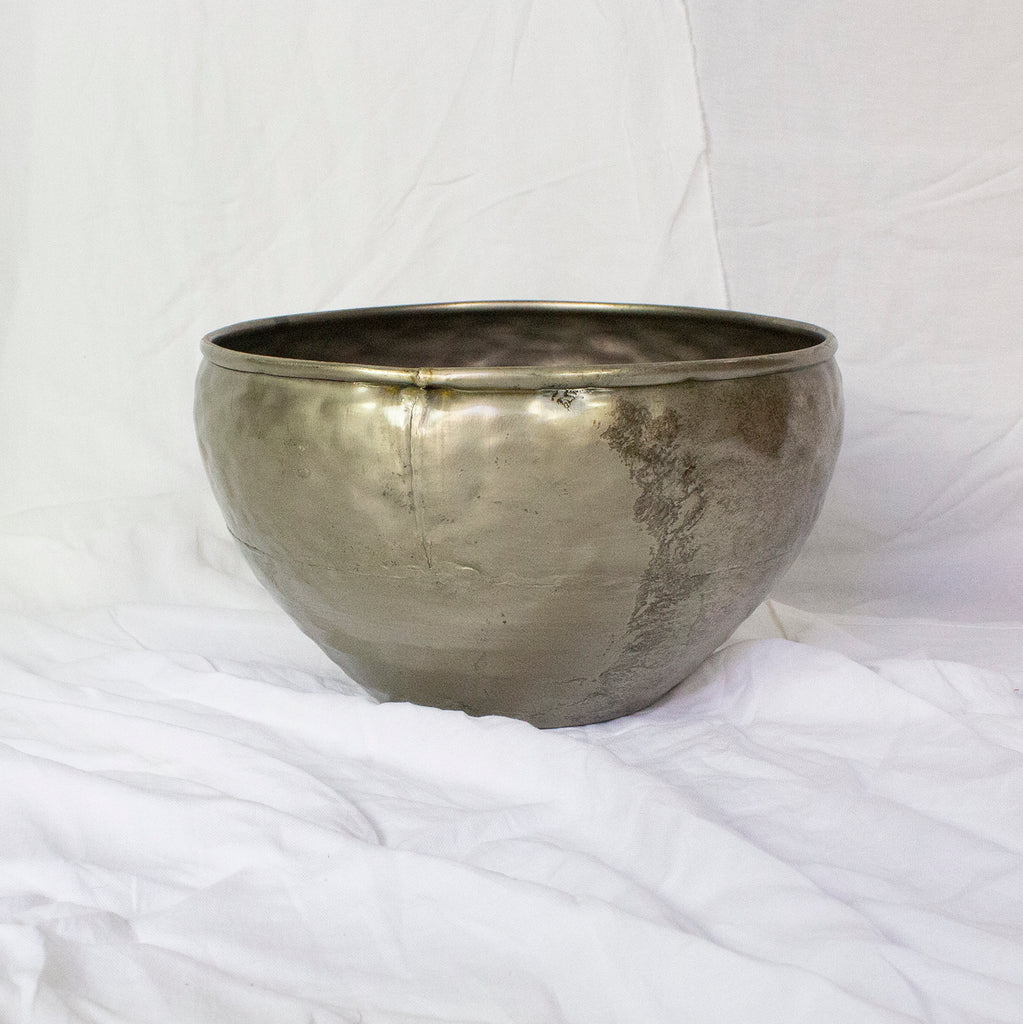 METAL PLANTER | ANTIQUE BRONZE FINISH