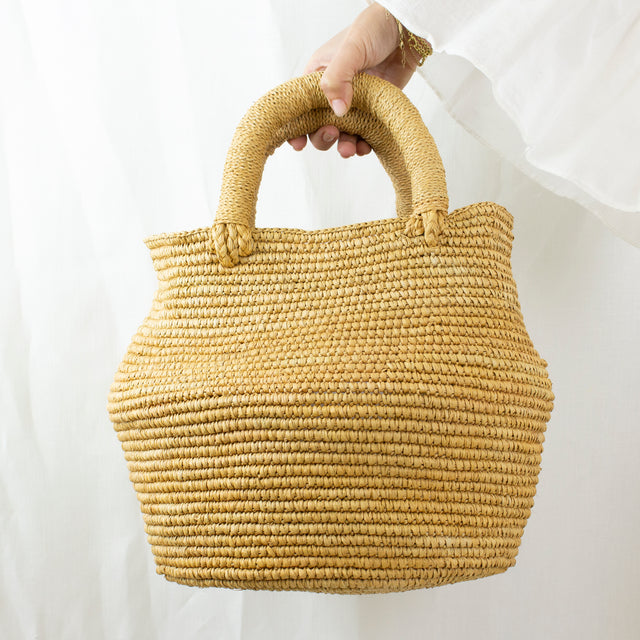 LARGE BAHIA BAG | CINNAMON