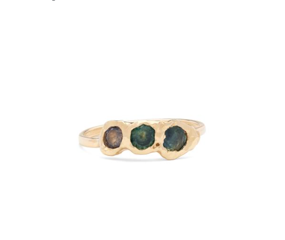 FREJA RING | BLUE SHADES