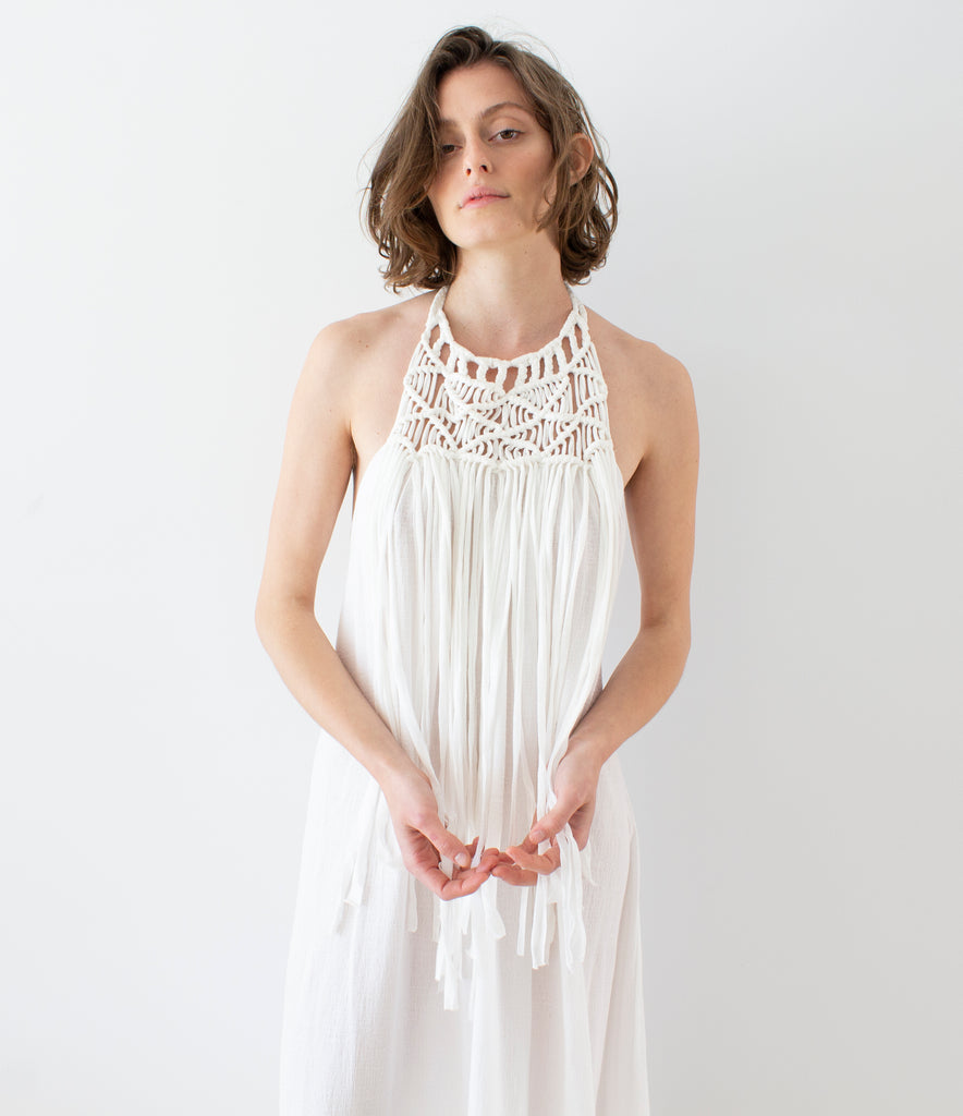 CRUEL SUMMER FRINGE DRESS