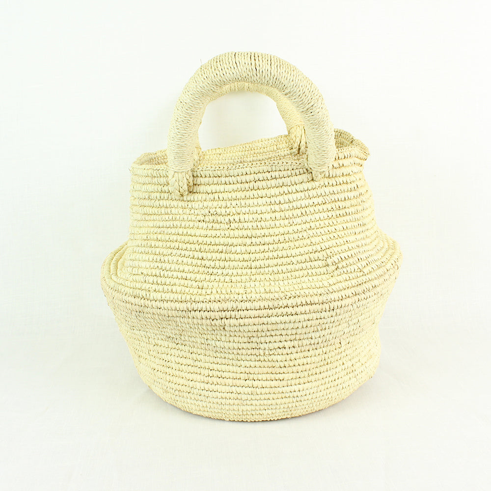 LARGE BAHIA BAG | NATURAL