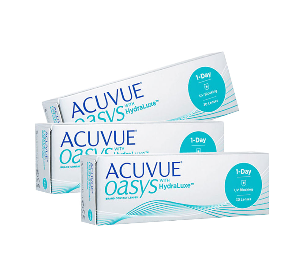 Paket 3 Box : 1 DAY ACUVUE OASYS BC 90 by Johnson & Johnson