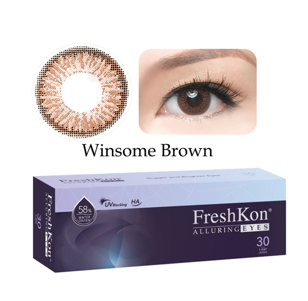 1 Day Alluring Winsome Brown (30Pcs) by FreshKon