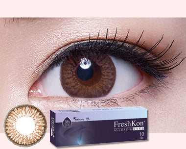 1 Day Alluring Winsome Brown (10Pcs) by FreshKon