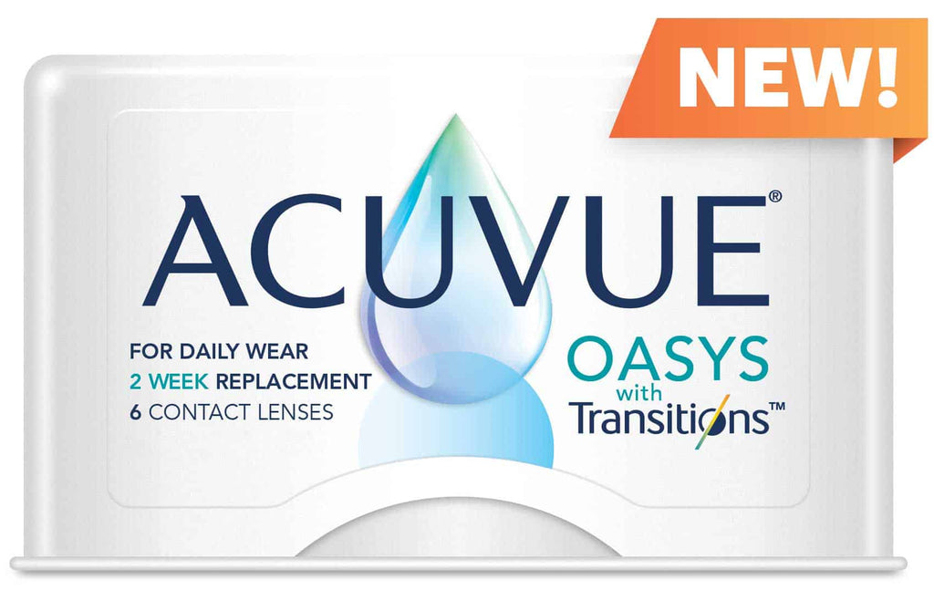 Acuvue Oasys Transitions by Johnson & Johnson