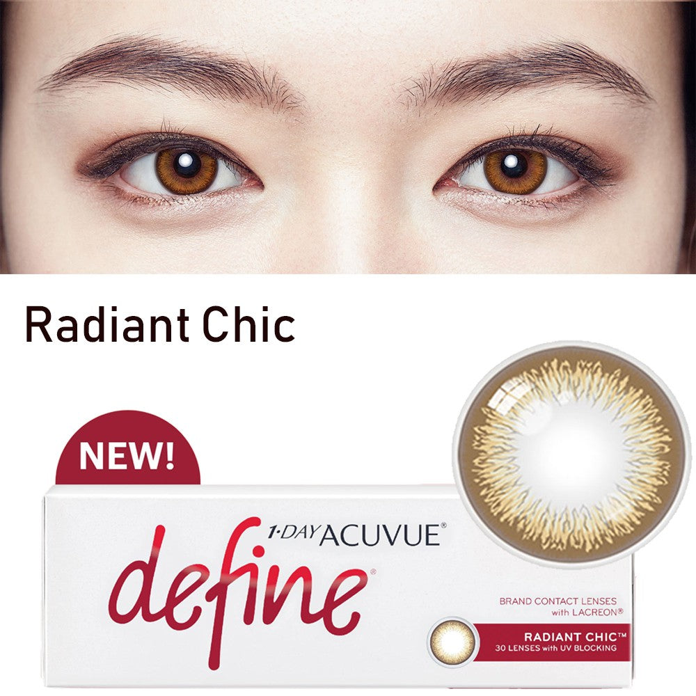 1 Day Acuvue DEFINE Radiant Chic by Johnson & Johnson