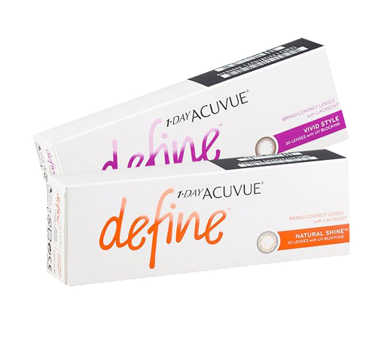 1 Day Acuvue DEFINE Combination Color ( 2 box ) by Johnson & Johnson