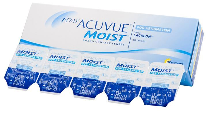 1 Day Acuvue Moist Astigmatism for Plus Eyes by Johnson & Johnson ( Pre Order )