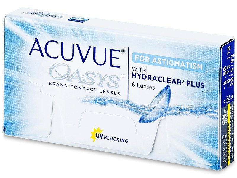 Acuvue Oasys Astigmatism by Johnson & Johnson ( Pre Order )