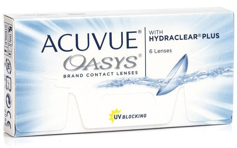 ACUVUE OASYS with HYDRACLEAR by Johnson & Johnson
