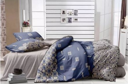 iCreate BED COVER SET SPREI FITTED SIMPLE LIFE - Microtex