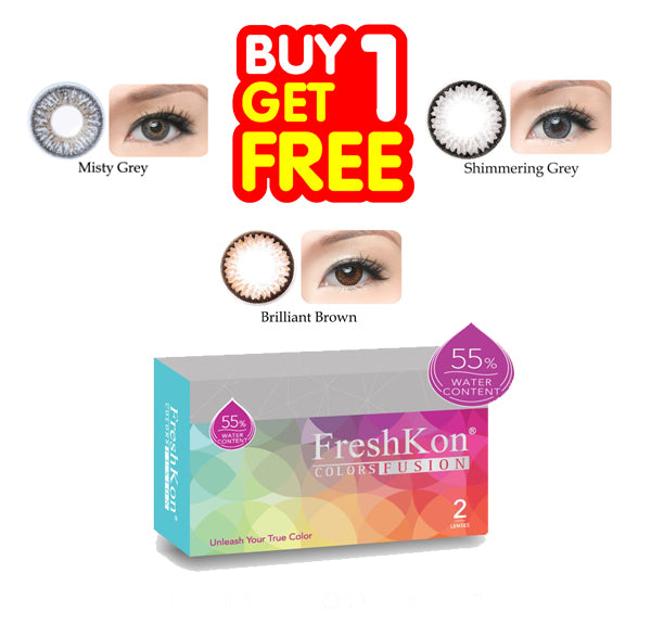 Buy 1 Get 1 FreshKon Colors Fusion Monthly - Combination Color