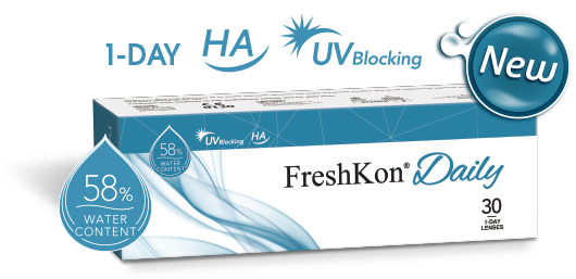 FreshKon Daily Contact Lenses ( 30pcs )