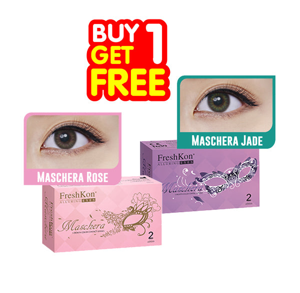 Buy 1 Get 1 Freshkon Alluring Maschera - Combination Color
