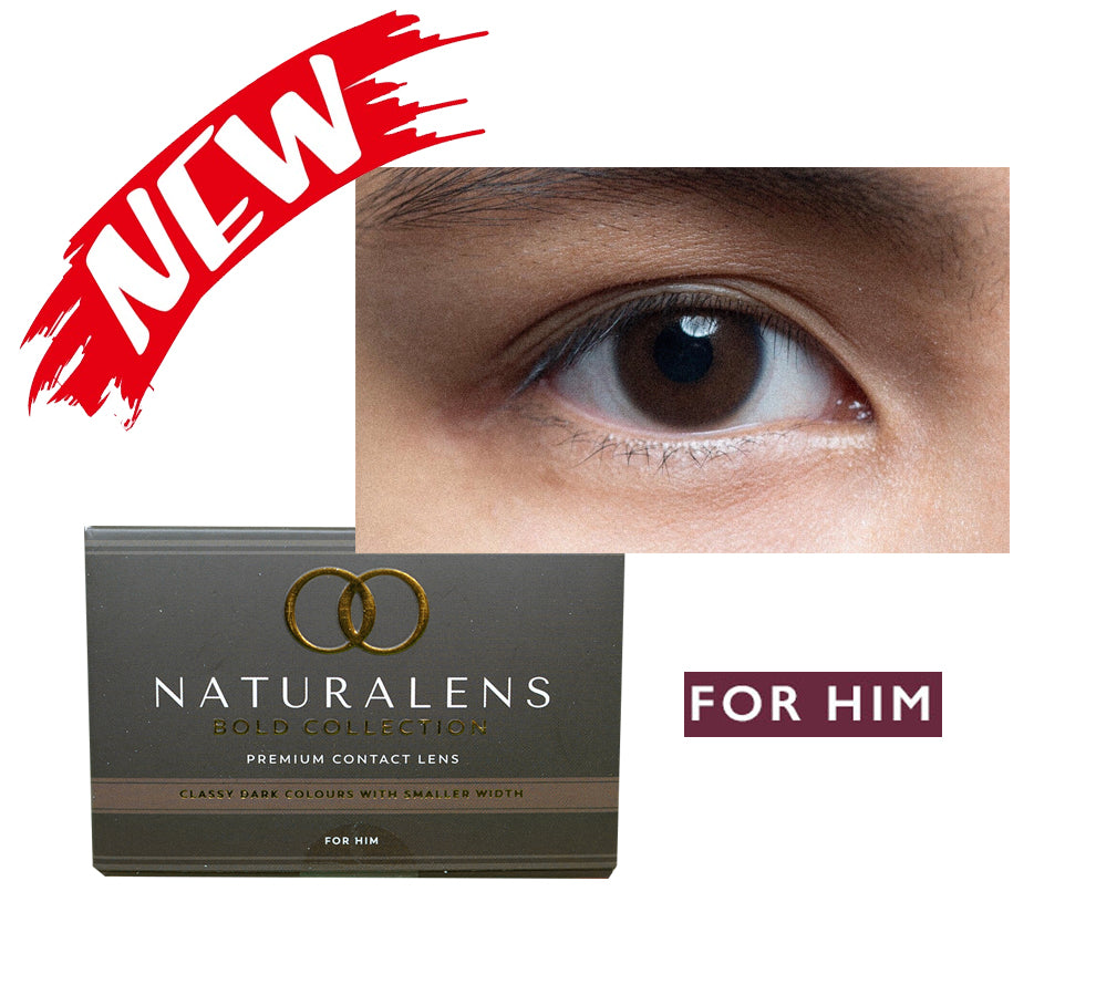 Bold Collection Dark Brown For Him by Naturalens