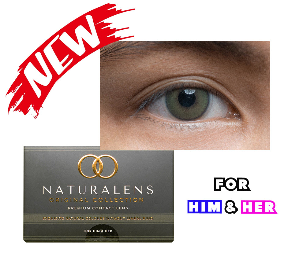 Original Collection Hazel Green For Him & Her by Naturalens