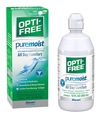 Opti Free Pure Moist 300ml by Alcon