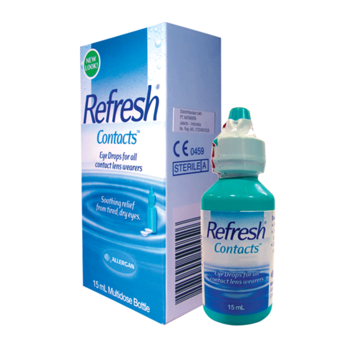 Refresh Contacts Eye Drops 15ml by Allergan