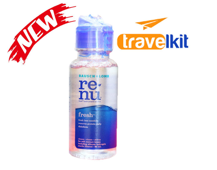 Re-Nu Fresh 60ml by Bausch & Lomb ( Travel Kit )