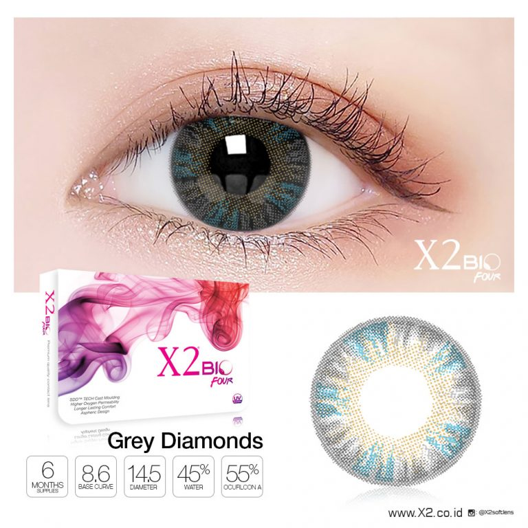 X2 Bio Four Grey Diamonds