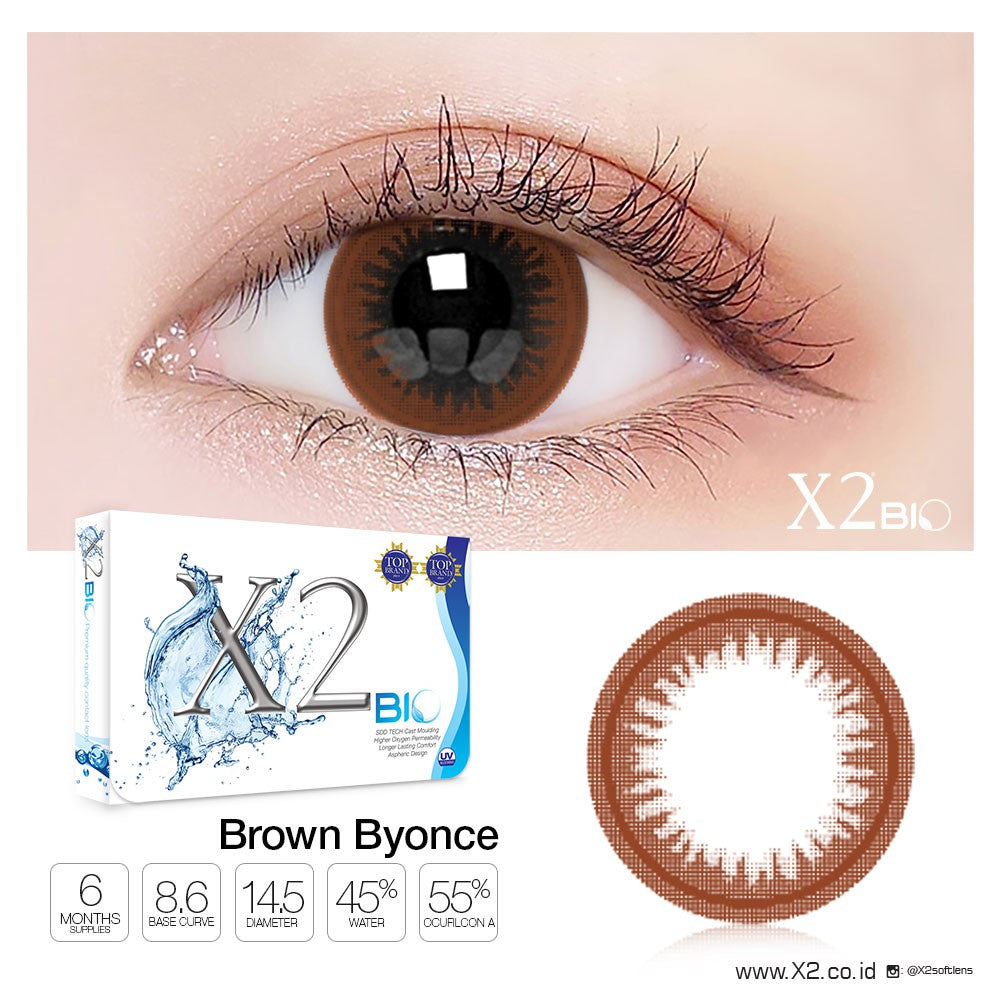 X2 Bio ( Old ) Brown Byonce