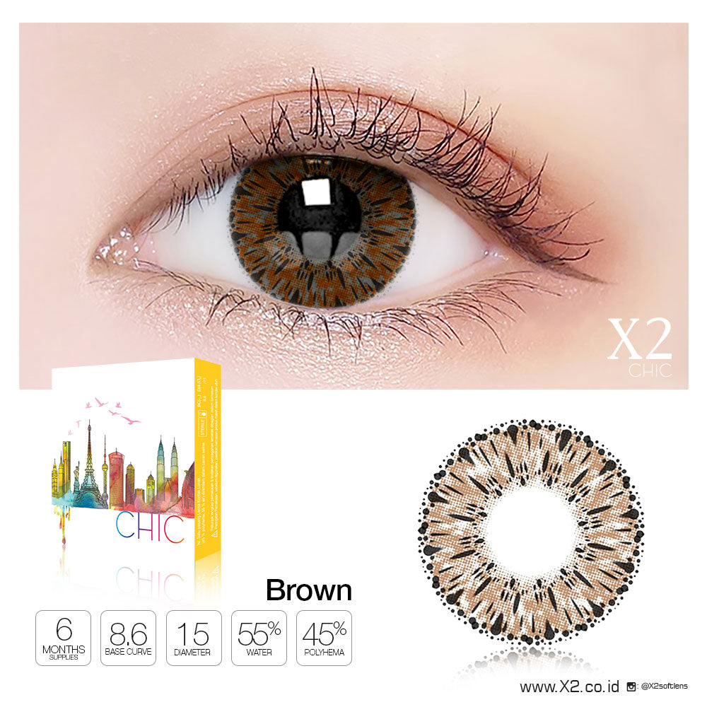 X2 Chic Brown