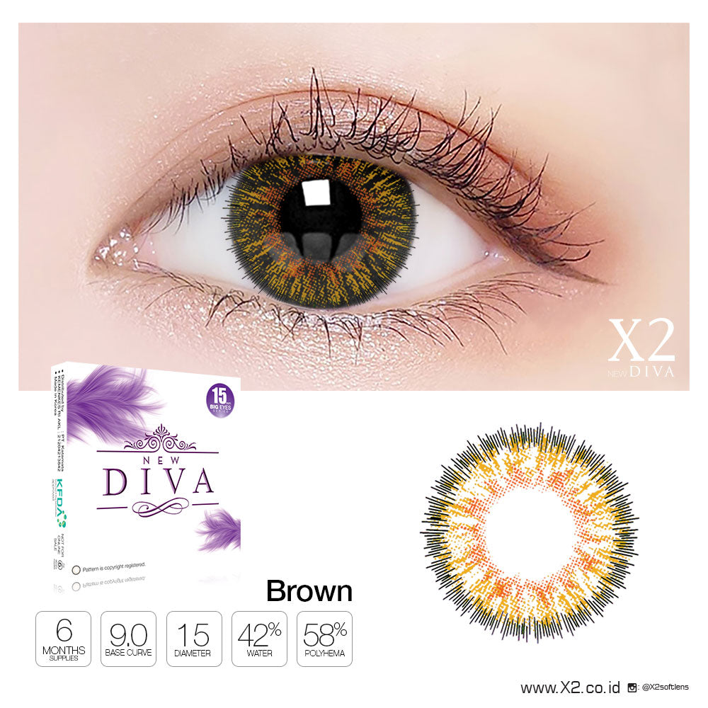 X2 New Diva Brown