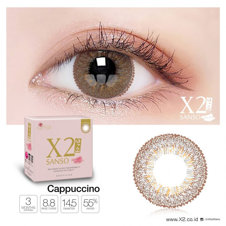 X2 Sanso Color Cappuccino