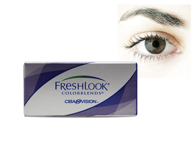 Freshlook Colorblends Brown by Ciba Vision