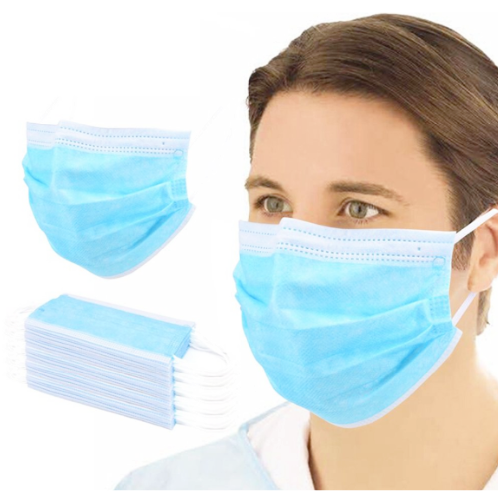 Protective Mask Disposable Surgical Mask Earloop Masker (3 Ply/ 50 pcs)