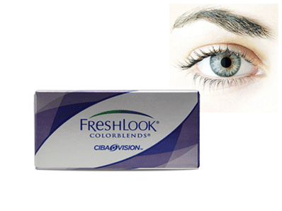 Freshlook Colorblends Sterling Gray by Ciba Vision