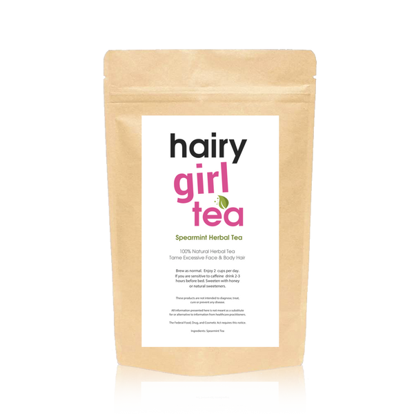 "Hairy Girl Herbal ""STOP HAIR"" Tea  30 Servings"
