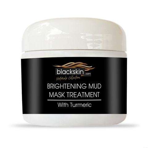Brightening Mud Mask w/ Turmeric 2.0oz - Blackskin.com Product for Black skin , Dark Marks , Acne on Black Skin. Hyper pigmentation